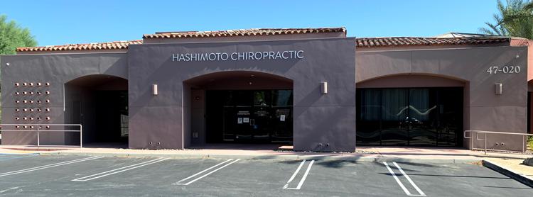Chiropractic La Quinta CA Hashimoto Chiropractic Office Building